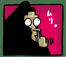 the stupid gorilla sticker #12659533