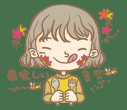 Flower Girl Stickers sticker #12661698