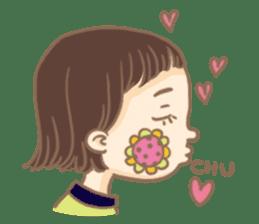 Flower Girl Stickers sticker #12661699