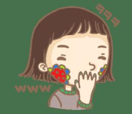 Flower Girl Stickers sticker #12661704