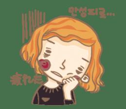 Flower Girl Stickers sticker #12661710