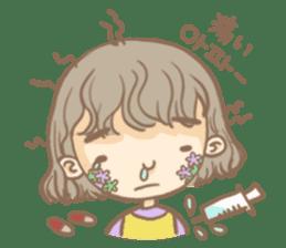 Flower Girl Stickers sticker #12661713