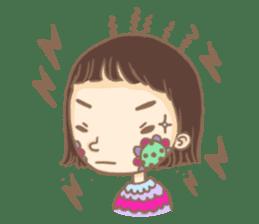 Flower Girl Stickers sticker #12661714