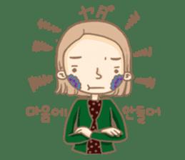 Flower Girl Stickers sticker #12661717