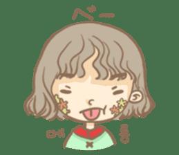 Flower Girl Stickers sticker #12661718