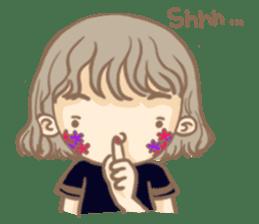Flower Girl Stickers sticker #12661723