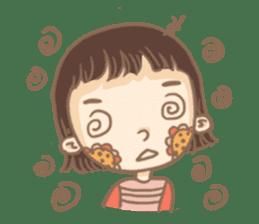 Flower Girl Stickers sticker #12661724