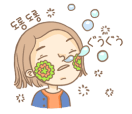 Flower Girl Stickers sticker #12661727