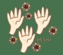 Flower Girl Stickers sticker #12661729