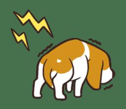 Pun Pun Beagle sticker #12662519