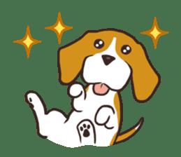 Pun Pun Beagle sticker #12662520
