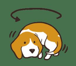 Pun Pun Beagle sticker #12662523
