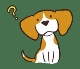 Pun Pun Beagle sticker #12662528