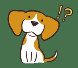 Pun Pun Beagle sticker #12662529