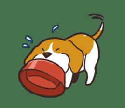 Pun Pun Beagle sticker #12662532