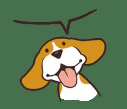 Pun Pun Beagle sticker #12662542