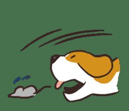 Pun Pun Beagle sticker #12662543