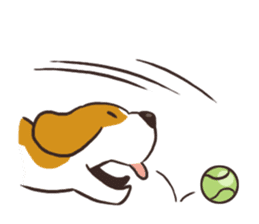 Pun Pun Beagle sticker #12662544