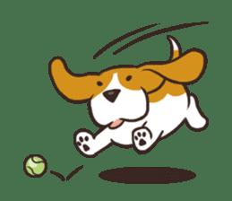 Pun Pun Beagle sticker #12662545