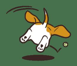 Pun Pun Beagle sticker #12662546