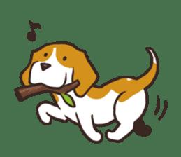 Pun Pun Beagle sticker #12662547