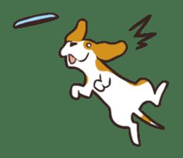 Pun Pun Beagle sticker #12662549