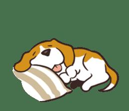 Pun Pun Beagle sticker #12662550
