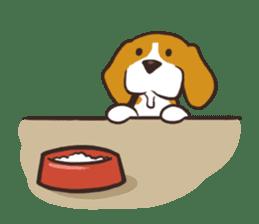 Pun Pun Beagle sticker #12662551