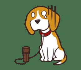 Pun Pun Beagle sticker #12662553