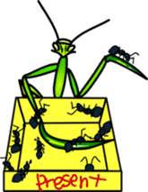 Sweet little bugs sticker #12663423