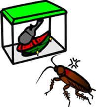 Sweet little bugs sticker #12663447