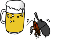 Sweet little bugs sticker #12663448