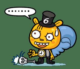 Mad Box Zombies - Lisfer sticker #12668517