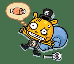 Mad Box Zombies - Lisfer sticker #12668522