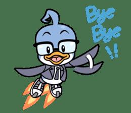 Spy Penguin - Rooky sticker #12668837