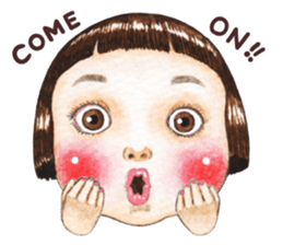 Ringochan4 sticker #12672398