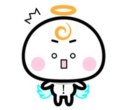 Daily conversation of the angel -chan sticker #12673336