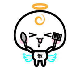 Daily conversation of the angel -chan sticker #12673355