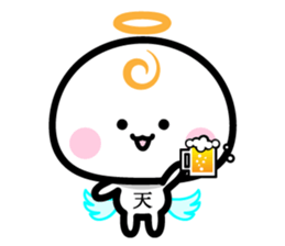 Daily conversation of the angel -chan sticker #12673356