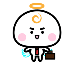 Daily conversation of the angel -chan sticker #12673357