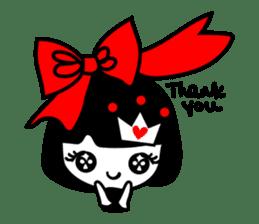 cute little princess sticker #12675383