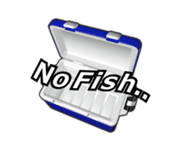 Let's go lure fishing - Black bass - sticker #12681708