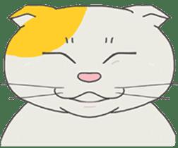 song of a cat sticker #12685010
