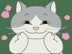 song of a cat sticker #12685014
