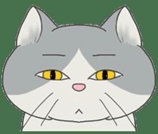 song of a cat sticker #12685016