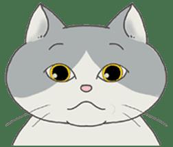 song of a cat sticker #12685028