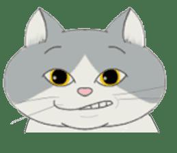 song of a cat sticker #12685039