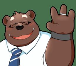 Daily bear dad sticker #12687104