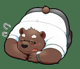 Daily bear dad sticker #12687106