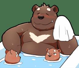 Daily bear dad sticker #12687115